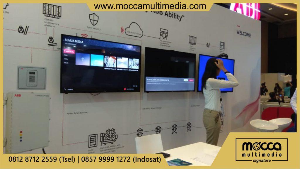 sewa tv pameran Semarang