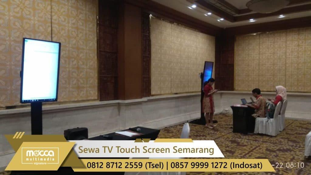 Sewa tv Touch screen semarang