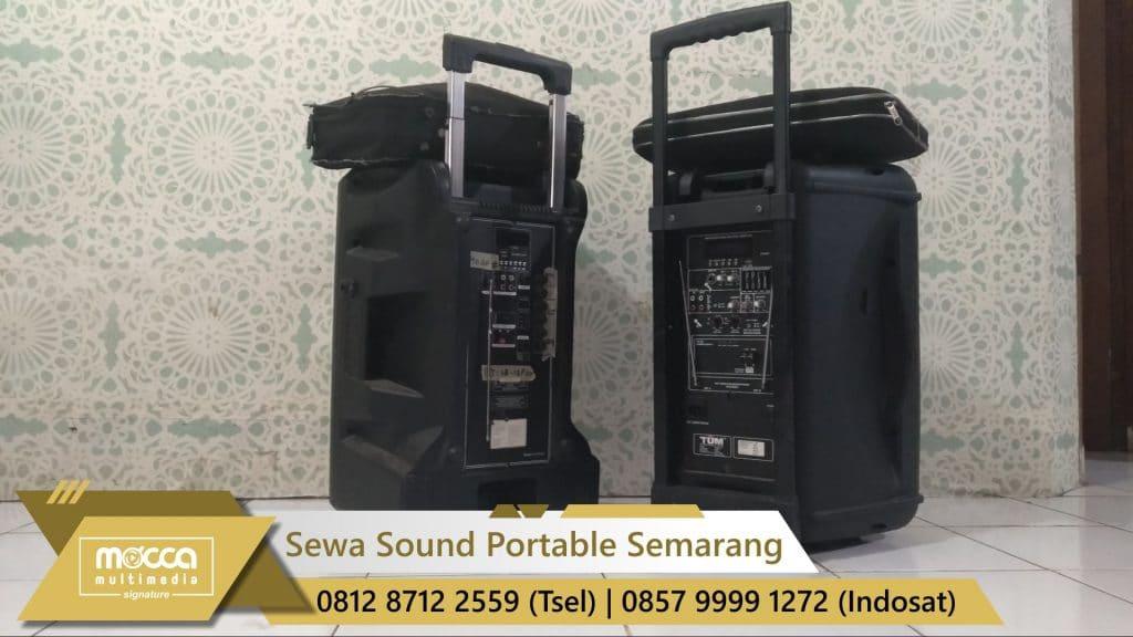 sewa sound portable semarang